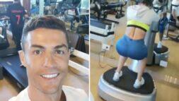 Hình ảnh bạn gái Ronaldo