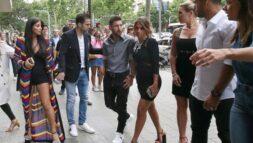 Hình ảnh vợ chồng Messi