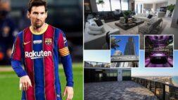 Messi mua nhà 7,3 triêu Euro