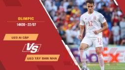 Tỷ lệ kèo nhà cái U23 Ai Cập vs U23 Tây Ban Nha, 14h30 ngày 22/7